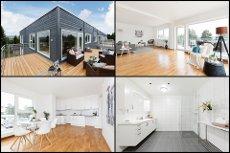 Aurskog - Ny, lekker 4-roms topp- selveier med stor, solvendt terrasse - Parkering i garasje og heisadkomst - Lave omk.!