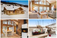 Meget innholdsrik og strøken helårshytte - bygd i 2013 - 3 soverom - Ski in/ski out - ca.30 min. til Geilo