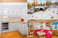 OSDALEN-Storåsen - Fin hytte i naturskjønne omgivelser-Innlagt strøm-