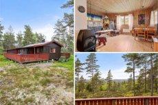 BUERSKOGEN 42 Ny Pris! Solrik hytte med flott utsikt mot havet/Kosterøyene/Gaustatoppen
