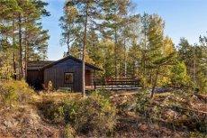AARBU HYTTEFELT - AREMARK Hytte med gode solforhold og utsikt - bilvei frem til tomten
