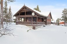 Blefjell - Værås - Lekker nyere hytte med 4 soverom og gode solforhold.