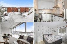 Hønefoss - Haldenjordet - Lys og pen toppleilighet med stor innglasset balkong. Forkjøpsrett avkl.