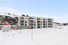 Framnes - Lekker, nyere, vestvendt 3 roms leil. m/fantastisk fjordutsikt. Garasje, heis, 15 kvm balkong m.m.