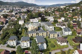 SOLBAKKEN - Prosjekterte leiligheter med garasje. Byggetrinn 1 og 2 igangsatt. Les mer på: www.solbakken1.no