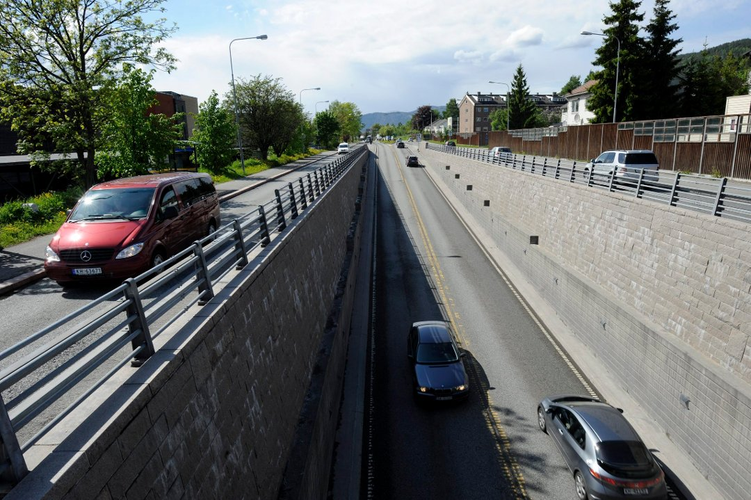 motorvei Drammen