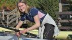 TIL HELLAS: Mia Falch kan smile etter å ha fått beskjed om at hun er uttatt til U23-EM.