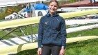 OVERLEGEN: Mia Falch har grunn til å smile etter to nye seirer i helgen.
