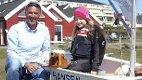 Hadde det topp: Leder i jollegruppa Per Christian Bordal og seileren Sofie Kjærnes Kristensen storkoste seg da sesongen ble offisielt åpnet 1. mai. Foto: Tor-Arne Dunderholen