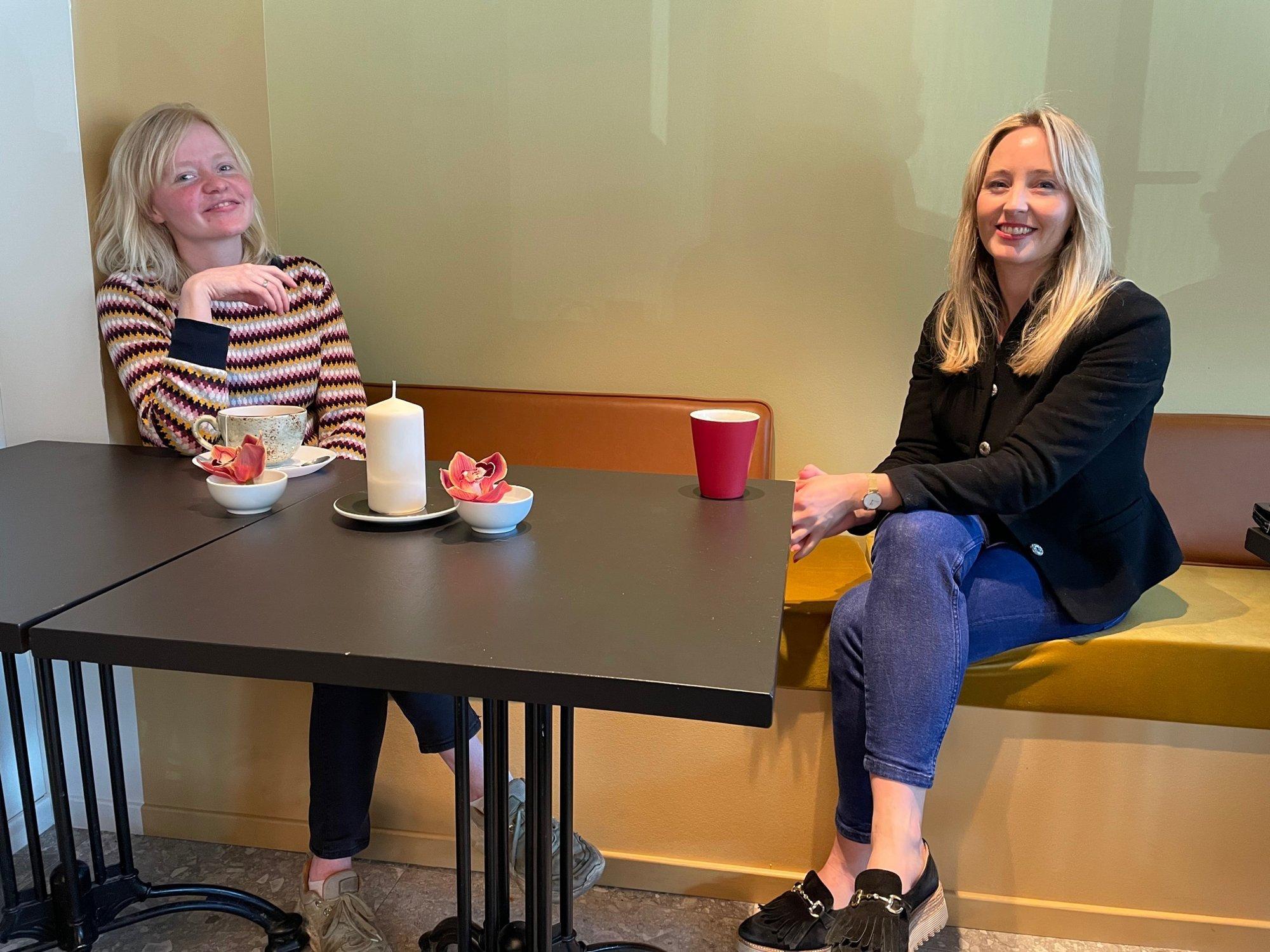 (+) Mona og Hilde fikk Fredrikstad-hjelp til den nye restauranten: – Det har blitt kjempefint her