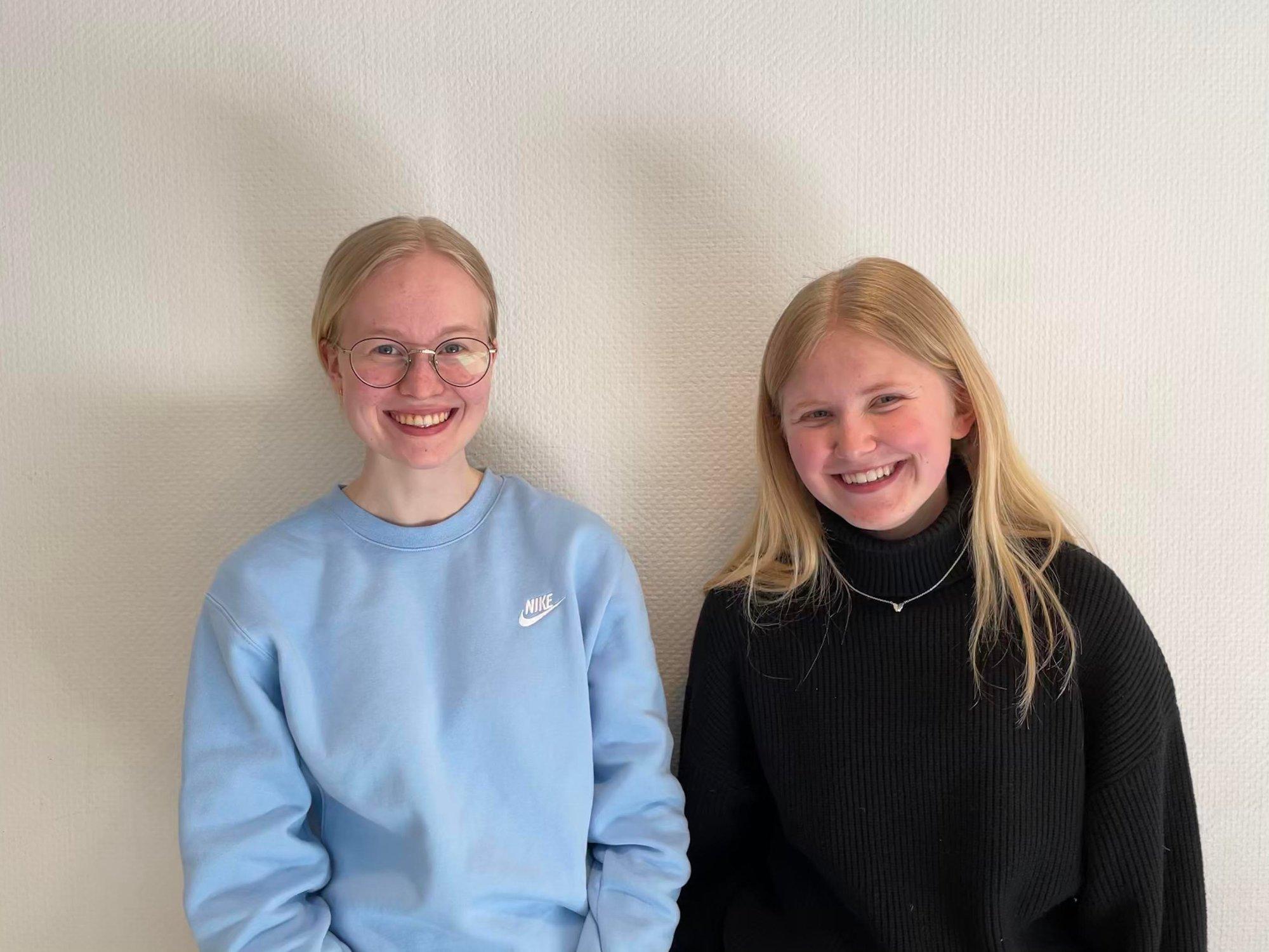 (+) Hege (18) og Johanne (17) kjemper om en plass i europeisk finale – nå kan du stemme på videoen deres