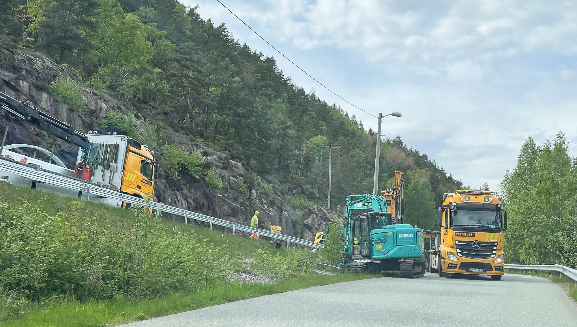 (+) Prioriterer dette tiltaket langs Svelvikveien: – Det er satt av penger til dette