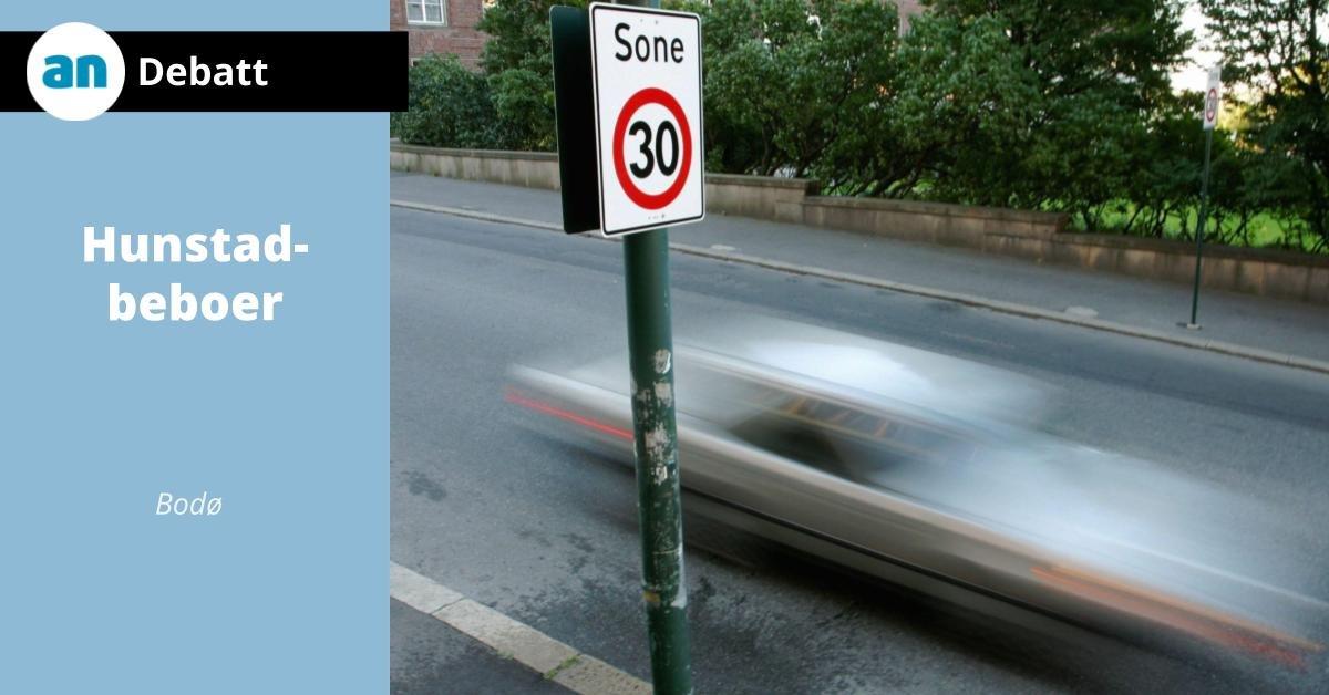 Forståelige fartsgrenser