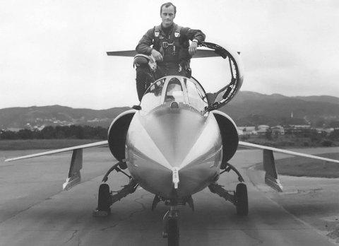 2.500 flytimer: Rolf Noel var flyger både ved 331 og 334 skvadron ved Bodø hovedflystasjon på 60-, 70- og 80-tallet, og hadde 2.500 flytimer med Starfighter. Dette bildet er tatt like etter at han kom til 331 skvadron sommeren 1968.