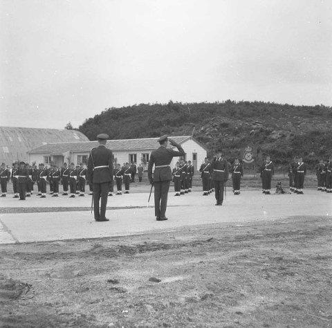 Her markeres 20-årsjubileet til 331 skvadron i Bodø i 1961.