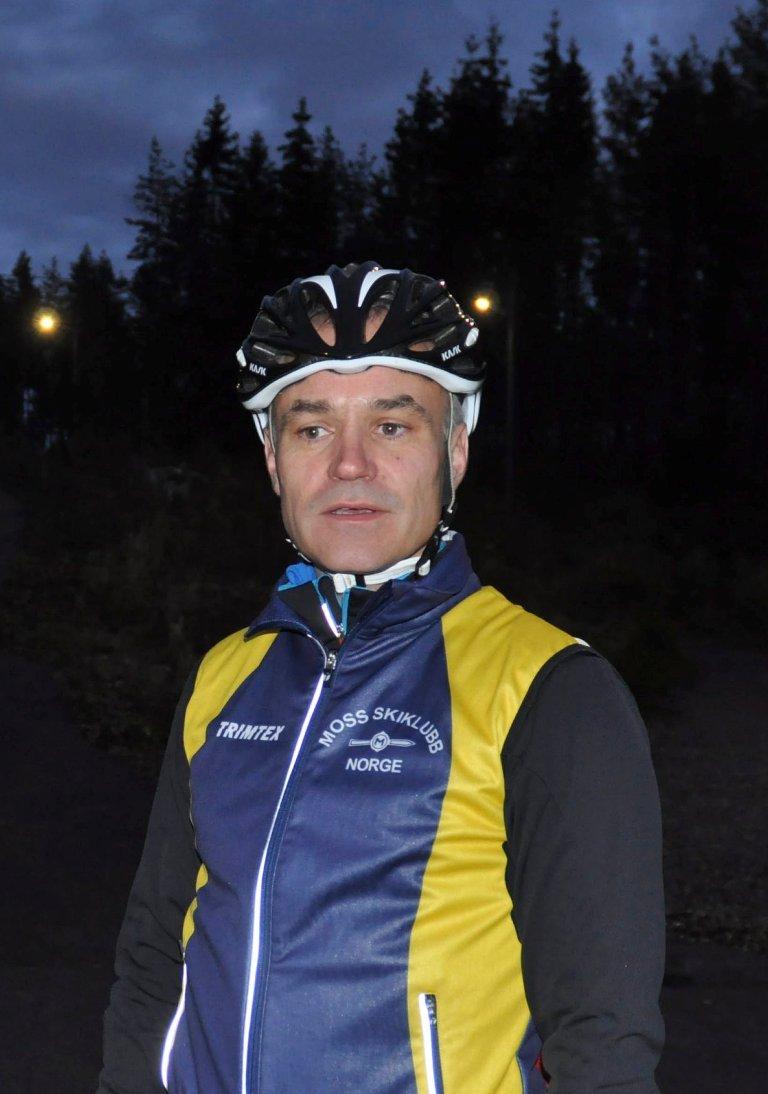 Leder i Moss skiklubb, Ole Kristian Narum.