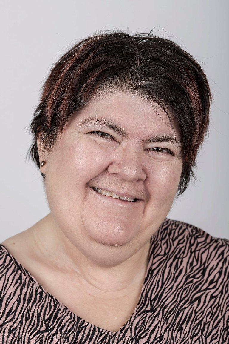 Anita Espedal (51), Førde. Kantinemedarbeidar.