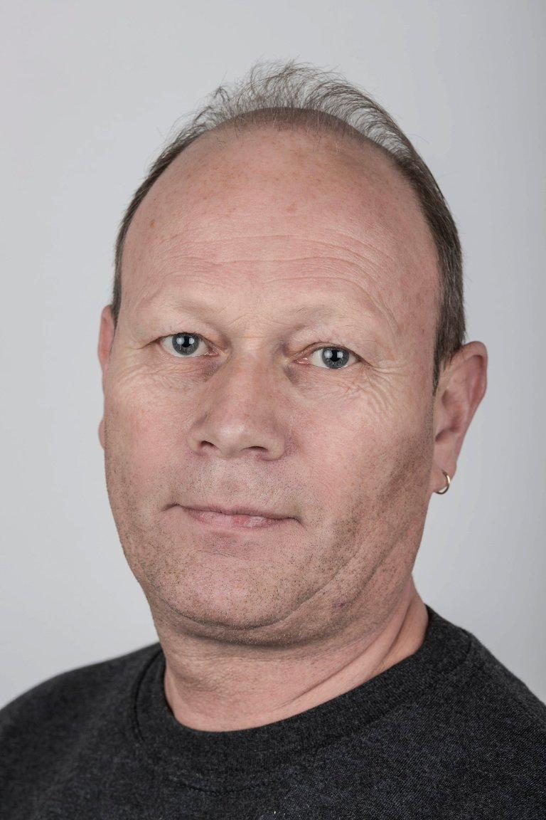 Svein Vie (50), Førde. Trykkar.
