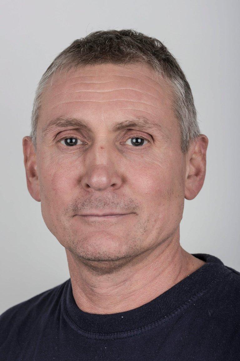 Jan Ove Hammar (53), Førde. Trykkar.
