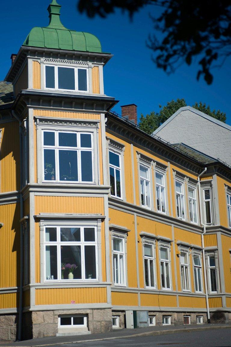 SKULLE VÆRT REVET: Bystyret vedtok å rive brukseier Søren Capjons tidligere bolig på 70-tallet.