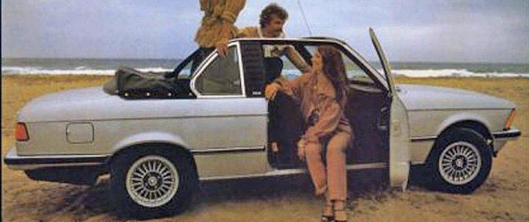 «VANLIG» VERSJON: BMW satte bort byggingen av cabriolet til Baur fra 1971 til 1987. På grunn av sikkerhet ble disse bilene bygd som en slags merkelig Targa-versjon, kalt Top Cabriolet. FOTO: BAUR