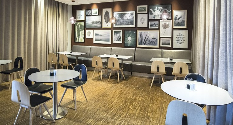 Ikke akkurat toppkarakter: Restaurantlokalene til Scandic Oslo Airport er innbydende og stilige, men når maten kommer på bordet, går vi tom for superlativer.