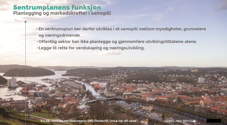 HAR RETNINGSLINJER: Trond Østby refererte flere ganger til sentrumsplanens funksjon.