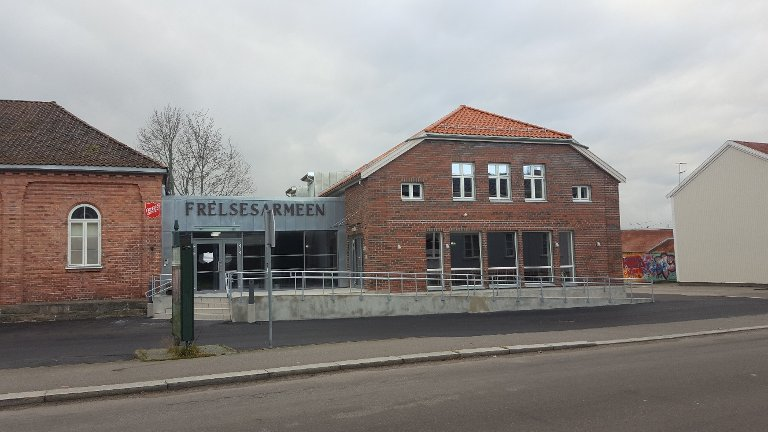 OSCARS GATE 8: Halden kommunes byggeskikkpris 2017.