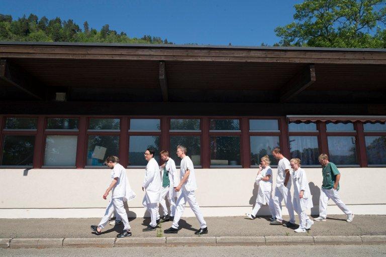 KRIMINALISERT: - Vi føler oss hengt ut, sier Markus Andreassen, en av overlegene på patologiavdelingen i Drammen.