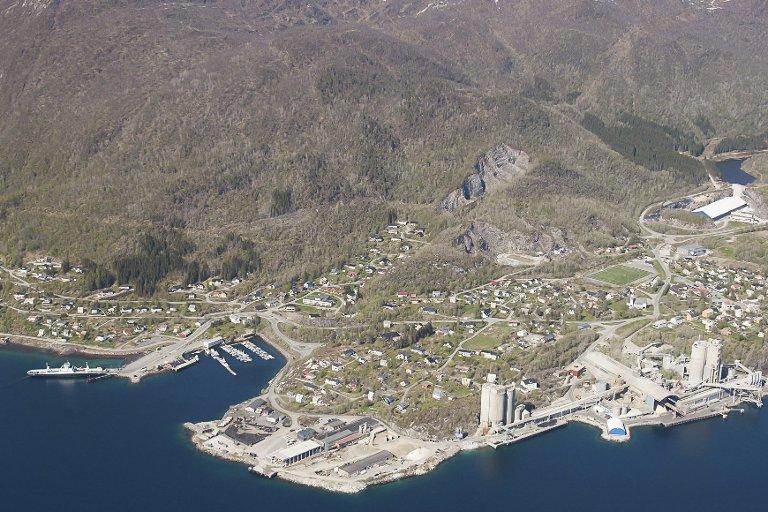 Langt unna: Kjøpsvik er 100 kilometer unna legevakt og sykehus i Narvik. Det er behovet for å løse denne utfordringen som har fått i gang prosjektet med den nye legevaktordningen.