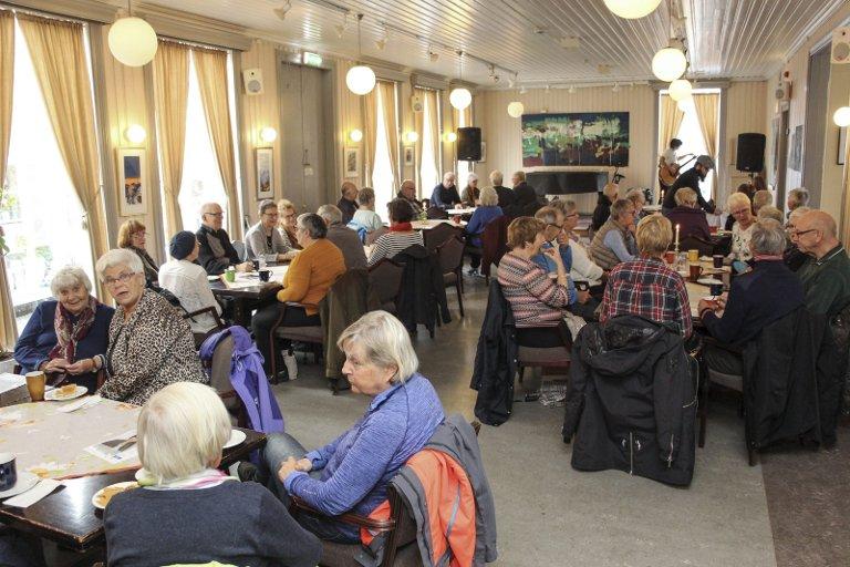 Populær: Den ukentlige lunsjkonserten er fast post på programmet for svært mange mennesker.