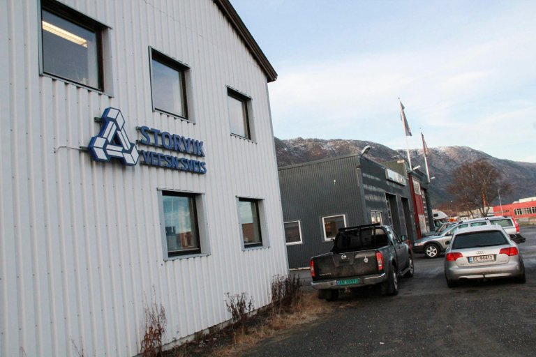 IKKE MER: Selskapsfusjonen Storvik Vefsn Sveis på Nyrud fikk en tre år lang levetid. Når skal Vefsn Sveis AS drive videre for seg selv, mens Storvik AS har sikret seg to store vedlikeholdskontrakter med Alcoa og satser på utvidelse etterhvert i Mosjøen.