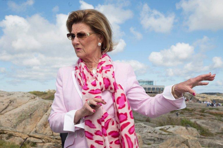 KOMMER: 6. juli kommer Dronning Sonja for å åpne Helgelandstrappa og for å delta på Festspillene på Helgeland.