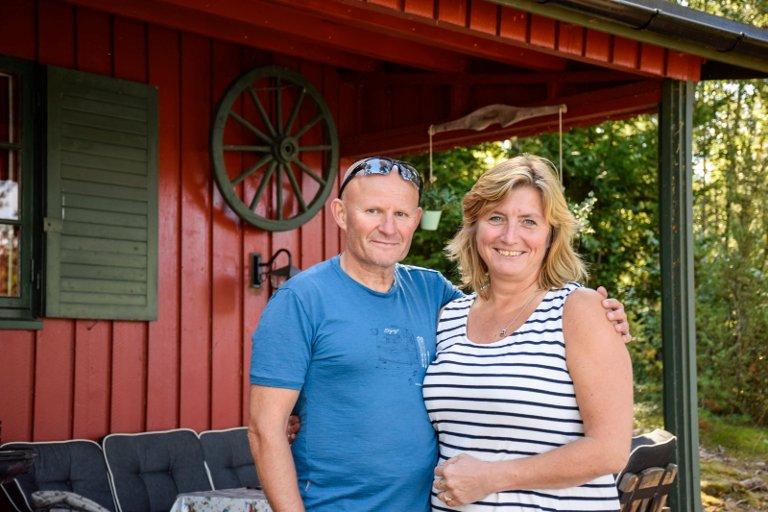 Eskil Bråten og Vivi Rian har feriert på Amundøya sammen i 30 år.