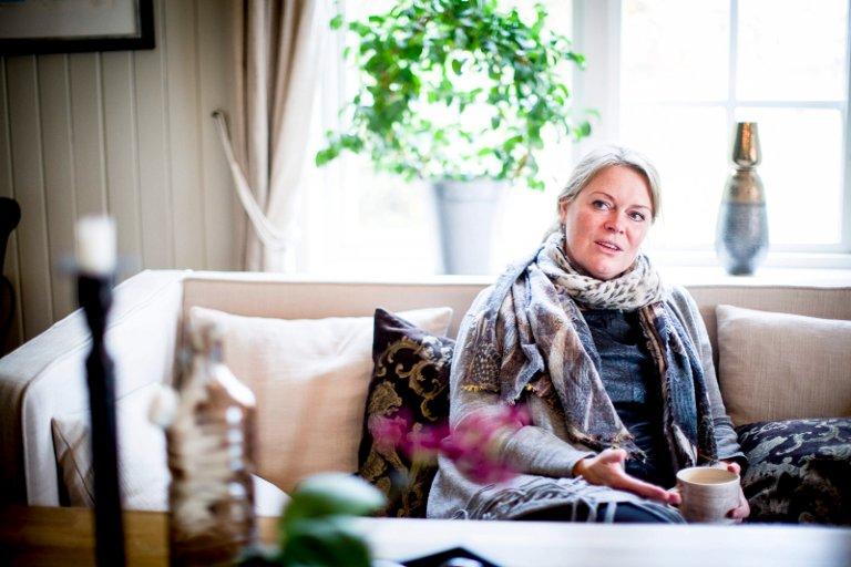 LEDER FOR 44.000 BØNDER: Anne Jødahl Skuterud (49) fra Gjerdrum er inne i sin tredje periode som styreleder i Felleskjøpet Agri.