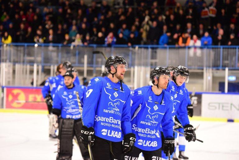 Narvik Hockey har levert både på og utenfor isen. Foto: Kjell G Karlsen