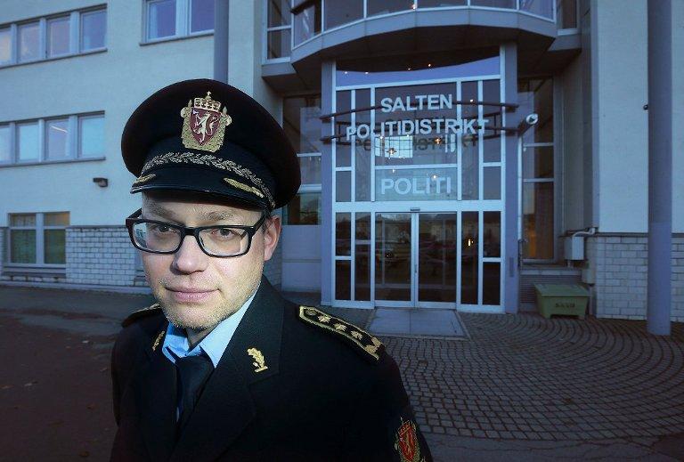 Påtaleleder Stig Morten Løkkebakken ved Nordland politidistrikt.