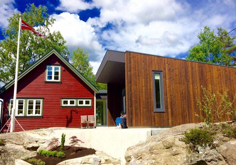NESTANGEN 25: Halden kommunes byggeskikkpris 2017.