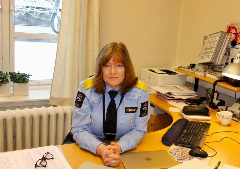 Doris Bakken er fengselsleder ved Bredtveit fengsel og forvaringsanstalt