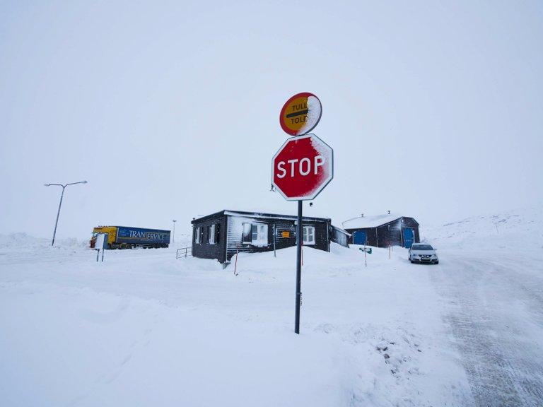 Tollstasjonen på Bjørnfjell.