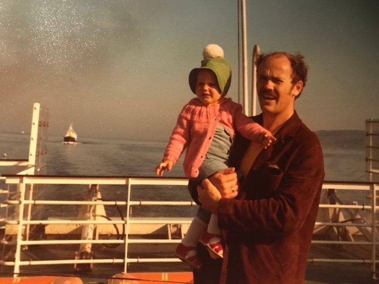 TID: Trude Trønnes husker morgenene hun fikk tid sammen med faren Helge godt.