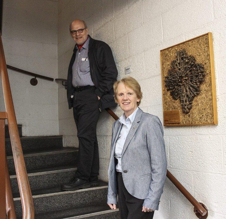 Styret: Anne Severinsen og Hans Pedersen trekker begge i trådene ved Kulturverkstedet.