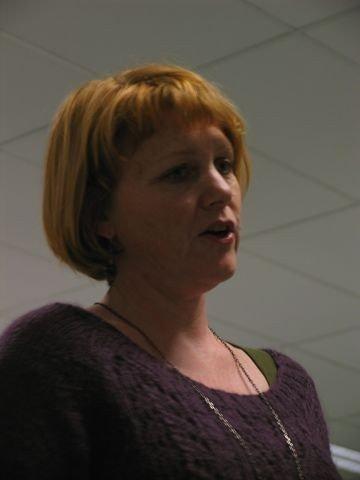 Rik diktning: Forfatter Brit Bildøen knyttet Halldis Moren Vesaas liv sammen med hennes rike og mangfoldige diktning.