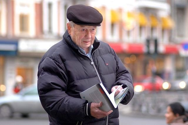 Leder i Milorg D13 Klubben, Finn Ramsøy (87), er opptatt av å bringe historiene fra 2. verdenskrig videre. Det var fem lange år som ikke må glemmes, sier han.