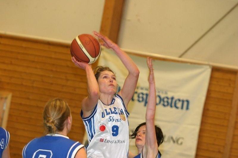 Lett match: Katrine Høy satte 11 poeng for Ullern da bunnlaget Nordstrand ble beseiret 80-41 i Øraker Idrettshall.