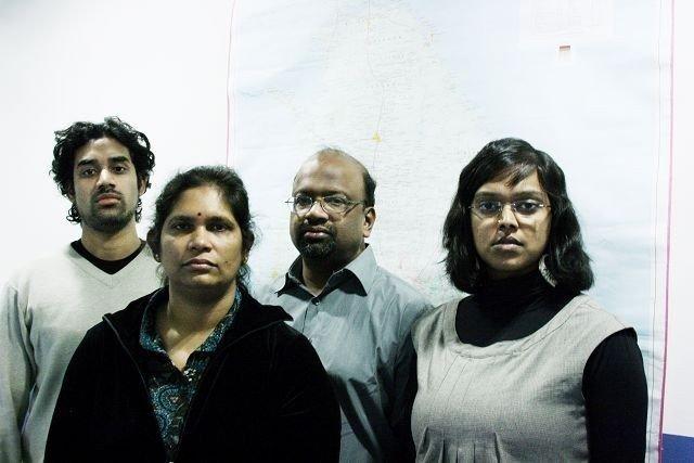 Fra venstre: Rooban Sivarajah, Sumathi Wijeyaraj, Rajah Balasingham og Khamshajiny Gunaratnam.