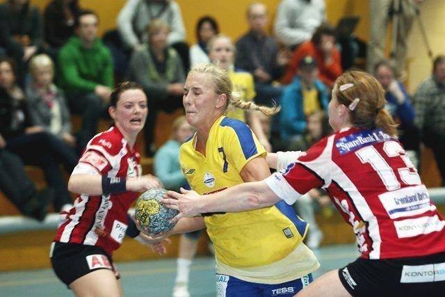 Hege Skarprud spilte en meget god kamp for BSK mot Gjerpen.