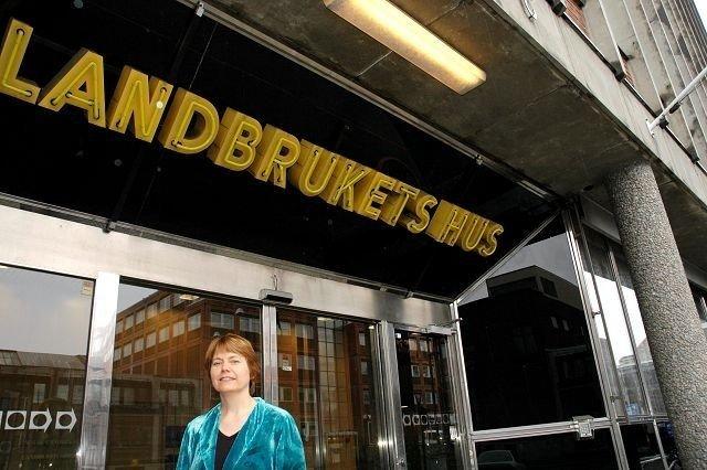 Leder Senterkvinner: Margaret Eide Hillestad er gjenvalgt leder for Senterkvinnene. Slik ser man ikke ofte påUIllern.