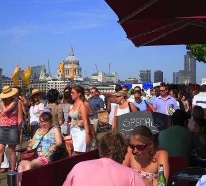 LONDON CALLING: Nyt London - langs Themsen.