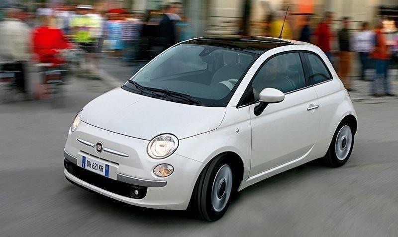 HYBRID: Fiat 500 kommer som hybrid.